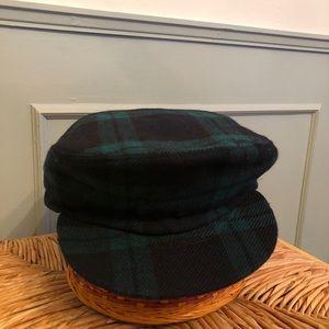 Vintage Plaid Black Watch Cap